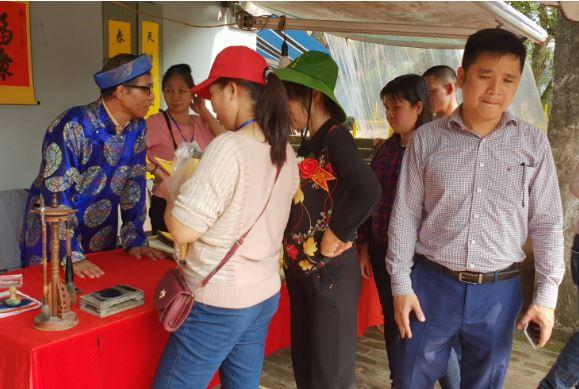 Nam Định: Hội đền Trần chưa khai mạc, du khách đã có ấn trong tay 3