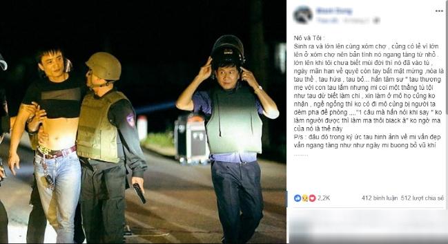 Kẻ buôn ma túy, ôm lưu đạn cố thủ ở Hà Tĩnh:
