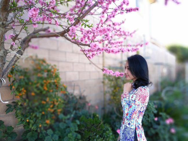 Biệt thự ngập tràn hoa trái của