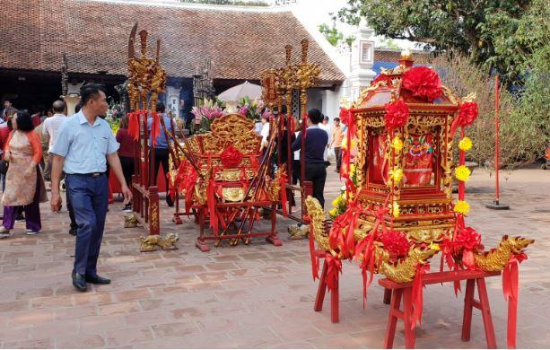 Nam Định: Hội đền Trần chưa khai mạc, du khách đã có ấn trong tay 4