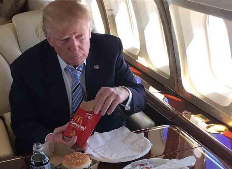 Hé lộ lý do khiến Trump cuồng fast food nhất chứ không phải cao lương mỹ vị nào 1