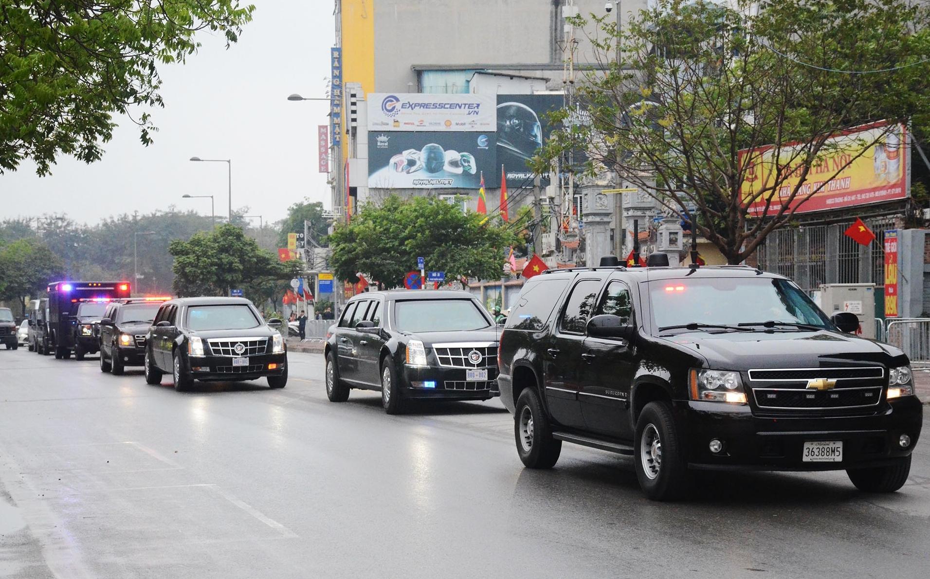 Hàng trăm mật vũ Mỹ tới Hà Nội chuẩn bị bảo vệ cho Tổng thống Donald Trump 5