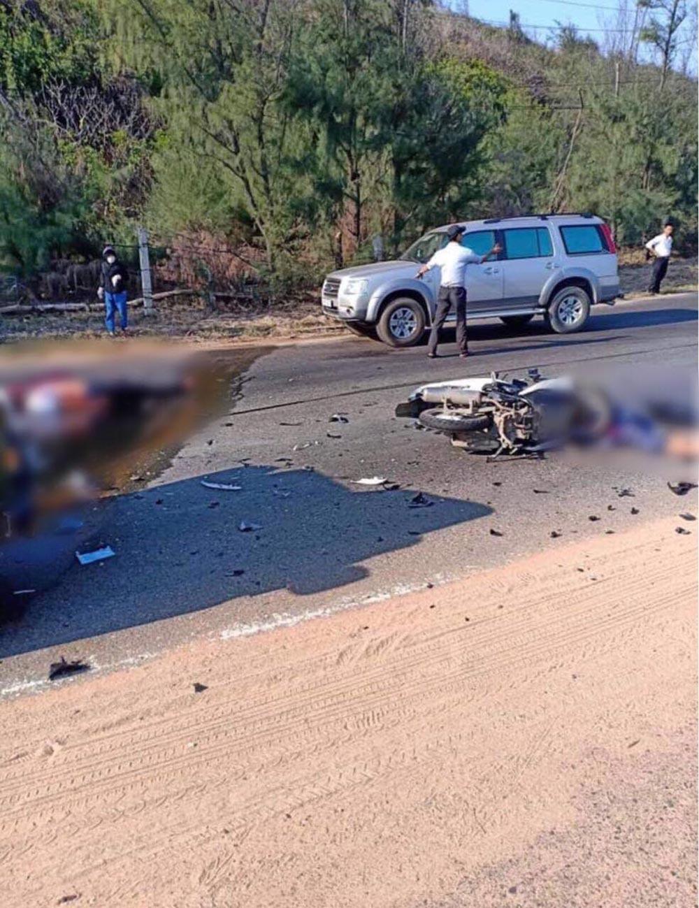 Bình Thuận: 2 cảnh sát PCCC thiệt mạng sau va chạm kinh hoàng với xe Jeep 1