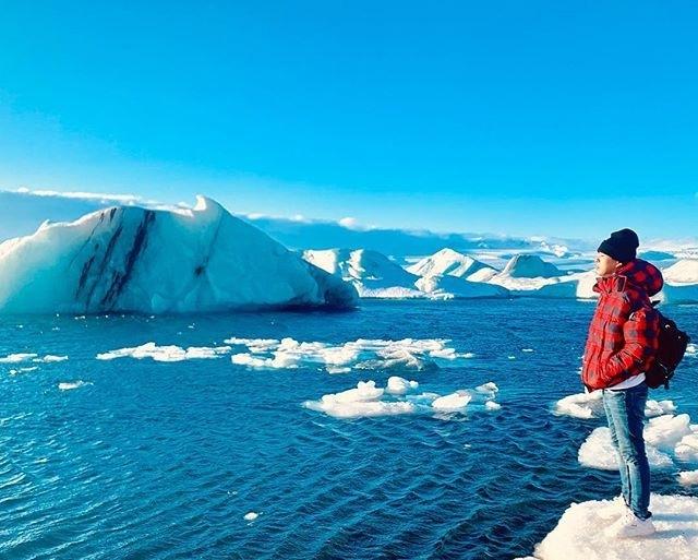 Bảo Anh diện bikini ở vùng đất lạnh giá Iceland, khoe thân hình nóng bỏng 5