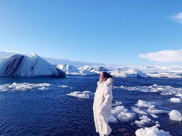 Bảo Anh diện bikini ở vùng đất lạnh giá Iceland, khoe thân hình nóng bỏng 6