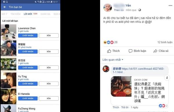 Cô gái Việt ngồi rửa bát được hàng nghìn chàng trai Trung Quốc kết bạn 2