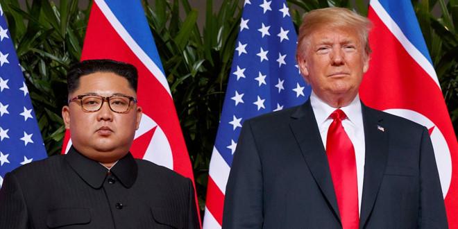 Động thái bất ngờ của Triều Tiên khi ông Trump chuẩn bị tới Việt Nam 1