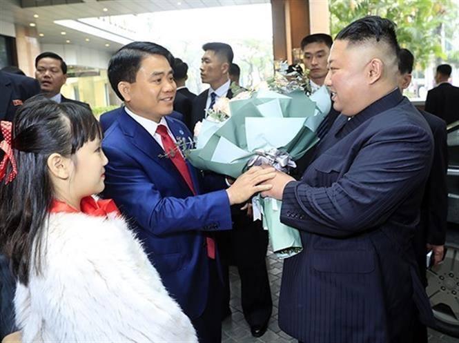 Ảnh ông Kim Jong-un bên trong khách sạn Melia Hà Nội 1