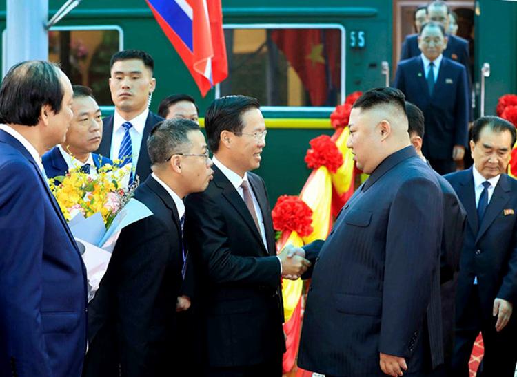 Ảnh ông Kim Jong-un bên trong khách sạn Melia Hà Nội 3