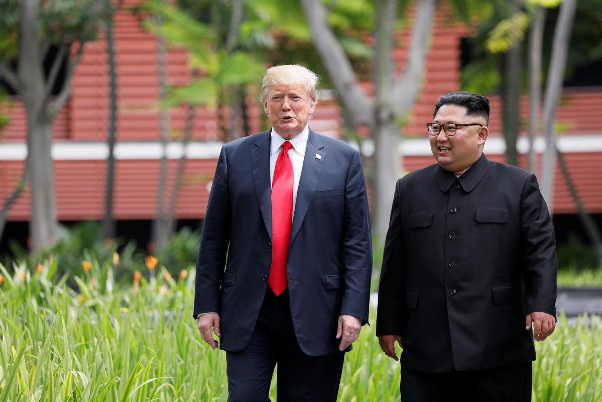 Tổng thống Trump và Chủ tịch Kim Jong-un chuẩn bị gặp mặt riêng 2