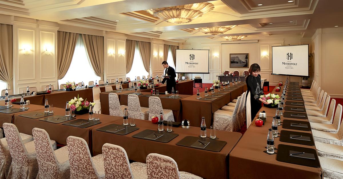 Khách sạn Metropole nơi ông Trump - Kim dùng bữa tối đầu tiên 3