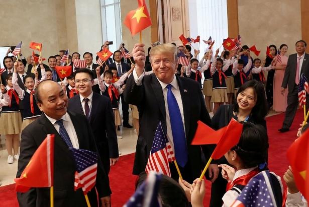 Những hình ảnh ấn tượng trong cuộc gặp của lãnh đạo Mỹ - Triều tại Hà Nội 6