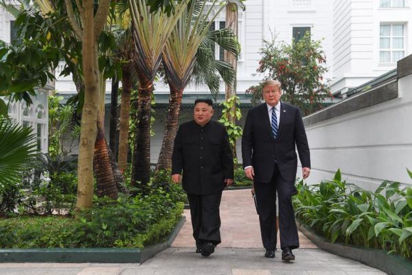 NÓNG: Trump chưa cam kết hội nghị tiếp theo với Kim Jong-un sau thượng đỉnh ở Hà Nội 6