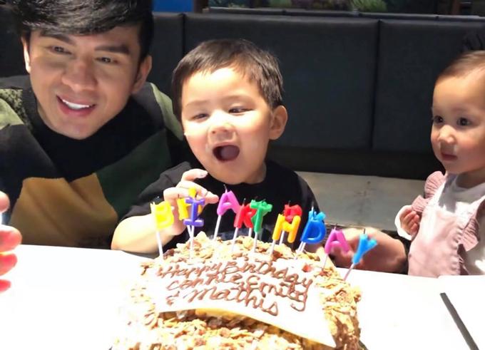 Đan Trường về Mỹ tổ chức sinh nhật hoành tráng cho con trai 2