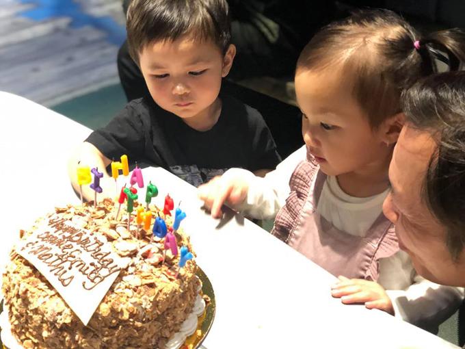 Đan Trường về Mỹ tổ chức sinh nhật hoành tráng cho con trai 3
