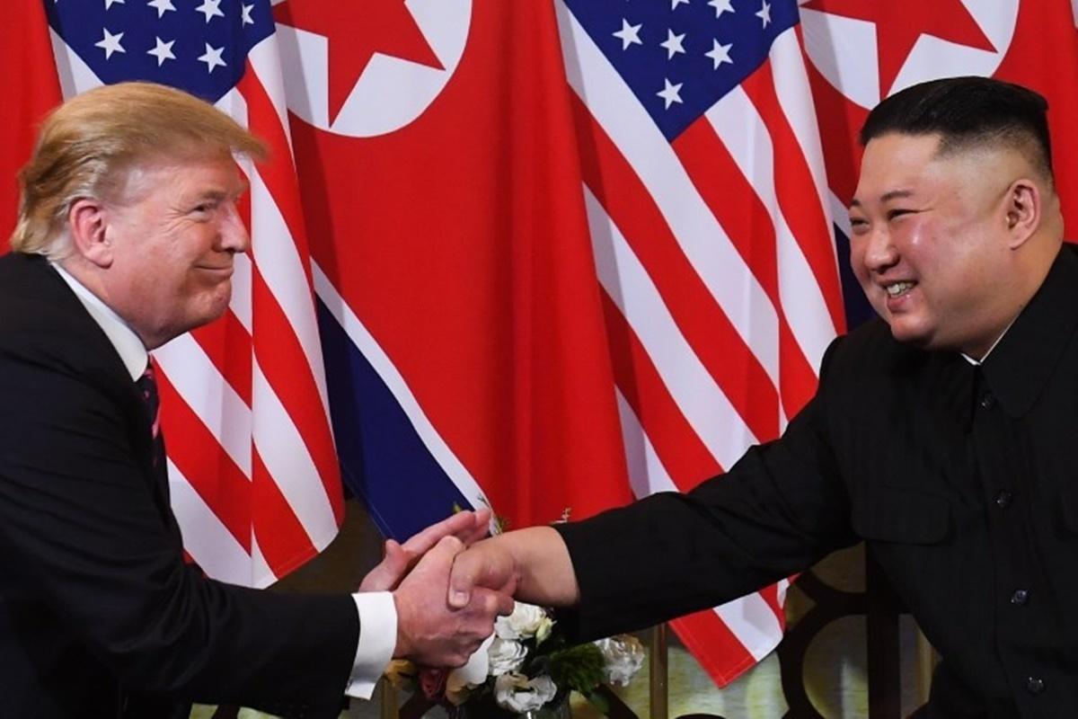 Những hình ảnh ấn tượng trong cuộc gặp của lãnh đạo Mỹ - Triều tại Hà Nội 10