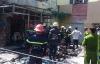 Clip: Cháy chi nhánh ngân hàng Viettinbank, gần chục xe máy bị thiêu rụi