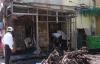Hỏa hoạn tại phòng giao dịch Vietinbank thiêu rụi nhiều xe máy và buồng ATM