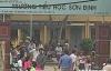 Công an điều tra vụ cổng trưởng đổ sập, đè chết một học sinh lớp 3