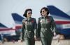 Những bóng hồng xinh đẹp của quân đội Trung Quốc