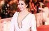 Hoa hậu Giáng My gây tranh cãi vì trang phục tại LHP Quốc tế