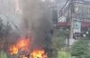 Hỏa hoạn bất ngờ tại khu đất trống, nhiều người hoảng loạn