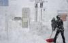 Chùm ảnh: Người Nhật chật vật chống chọi với bão tuyết