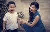 Trương Quỳnh Anh xuất hiện bên con trai sau những ngày