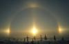 Hiện tượng 3 Mặt Trời xuất hiện ở Mông Cổ