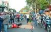 Tai nạn giao thông, thiếu nữ bị xe tải cán ngang người