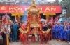 Sôi động lễ rước nước tại lễ hội Đền Trần