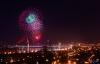 Bầu trời Đà Nẵng rực sáng pháo hoa mừng giải phóng thành phố
