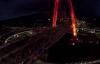 Clip cầu vượt 3 tầng lớn nhất Việt Nam đẹp lung linh trong đêm