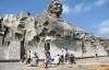 Vừa khánh thành, tổ hợp công trình tượng đài Mẹ Việt Nam anh hùng đã gặp sự cố