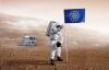 Hình dạng lá cờ đại diện loài người sẽ cắm lên hành tinh người ngoài Trái Đất