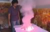 Đời sống - Họa sĩ đốt lửa thành tranh gây sửng sốt