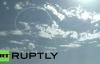 Ngỡ ngàng xem máy bay Nga vẽ trái tim trên bầu trời