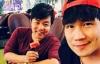 Quang Lê hội ngộ Khánh Phương trên chuyến bay về Mỹ
