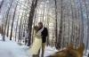 Cặp đôi nhờ chó cưng làm thợ quay phim đám cưới
