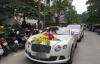 Giải trí - Dàn xe đón dâu 30 tỷ trong đám cưới của ca nương Kiều Anh