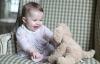 Tiểu công chúa nước Anh tái xuất dễ thương sau 6 tháng