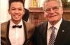 Giải trí - Trọng Hiếu Idol dự bữa tối cùng Tổng thống Đức Joachim Gauck