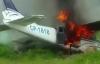 Video máy bay buôn ma túy bị cảnh sát bắn hạ bốc cháy nghi ngút