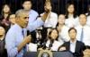 Tổng thống Obama nói về Trần Lập, Sơn Tùng M-TP với bạn trẻ Việt Nam