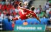 Video Euro 2016: Cầu thủ Thụy Sĩ ngả bàn đèn lập siêu phẩm vào lưới Ba Lan