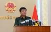 Tướng Tuấn thông tin về kết quả tìm kiếm các quân nhân và máy bay gặp nạn