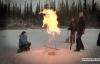 Hiện tượng kỳ lạ hồ sủi bọt, bốc cháy phừng phừng ở Bắc Cực