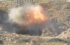 Tên lửa quân nổi dậy thổi bay xe tăng quân đội Syria