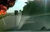 Thót tim khoảnh khắc xe chở xăng phát nổ trên cao tốc