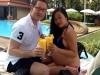 Lộ ảnh Đoan Trang diện bikini khoe bụng bầu 7 tháng